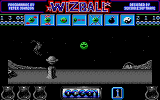 Thumbnail of other screenshot of Wizball