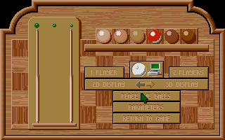 Screenshot of Billiards Simulator