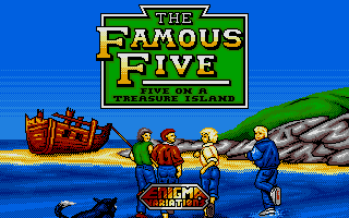 Thumbnail of other screenshot of Famous Five, The - Five on a Treasure Island
