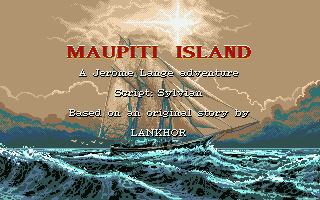 Maupiti Island is one of the finest adventure games for the ST!