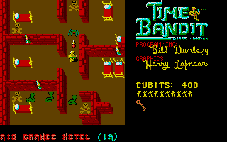 The old west levels in Time Bandit.