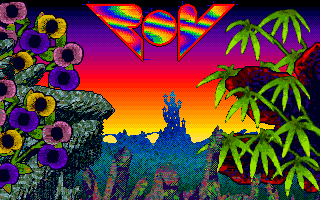 Another wonderful picture done by Oz/POV. Probably one of the best paints he did on Atari. It was drawn with Neochrome Master (81 colors on the screen).