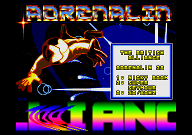 Adrenalin UK CD 28: Main code by Spaceman Spiff (ie MSD).