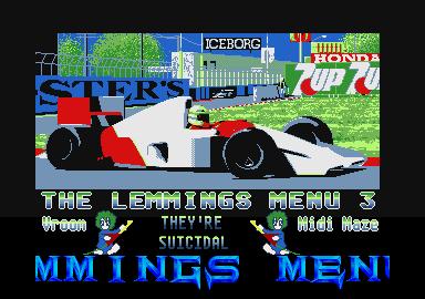 The Lemmings CD 3 version 1