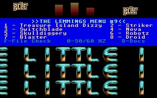 The Lemmings CD 9