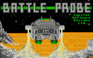 Battle Probe was Jon's first ST game. Programmed at very young age!