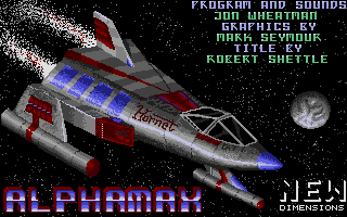 Alphamax was the first ST game released by his own company!