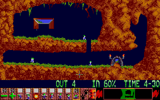 Brian is not only proud of this conversion, lemmings stays his favorite game up to this day!