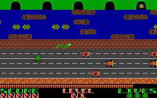 Who doesn't know Frogger?