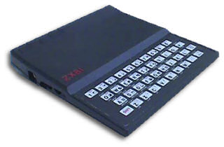 One of the first computers owned by Hal: the famous ZX81 by Sinclair.