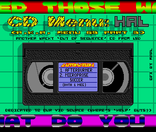 Automation disk 69 (part 3) is devoted to Hal only.