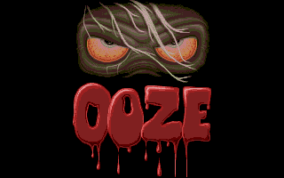 Another frightful picture of Ooze (Atari ST).