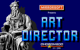 One of the oldest painter programs on Atari: Art Director.