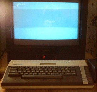 The 800XL has a 1.79 MHz CPU, 64 KB of RAM and 24 KB of ROM. It was released in 1983.
