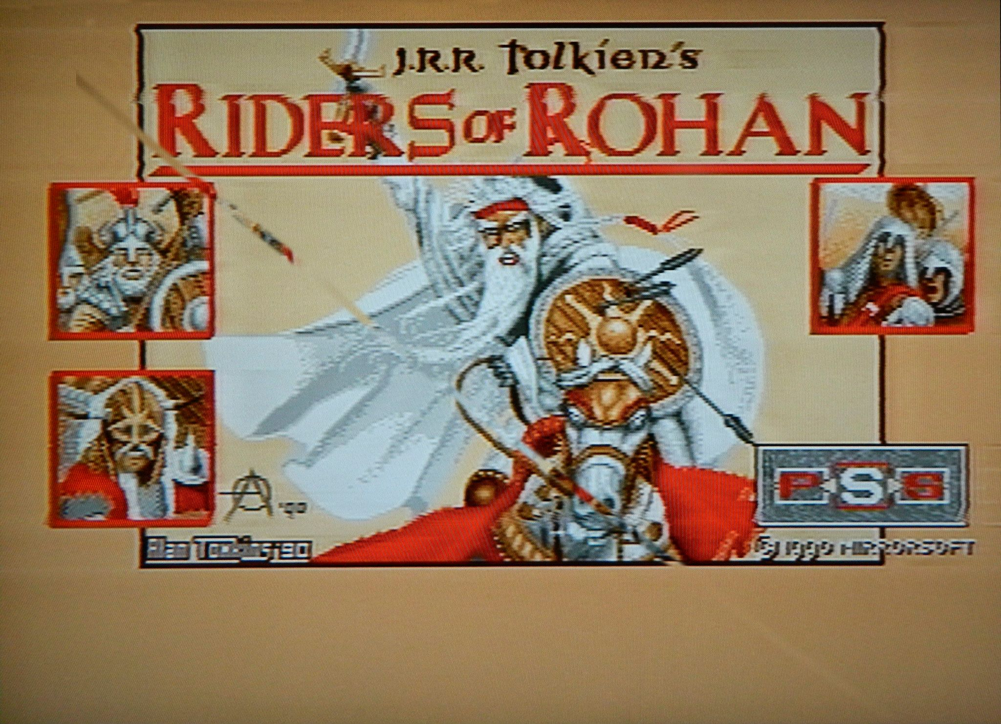 Riders of Rohan was one of the first VGA games Alan did.