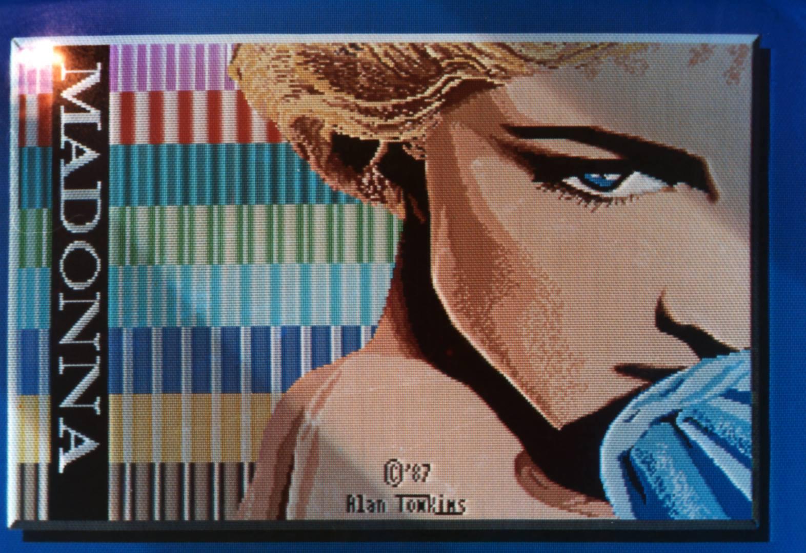 Madonna ... Created in Quantum Paint