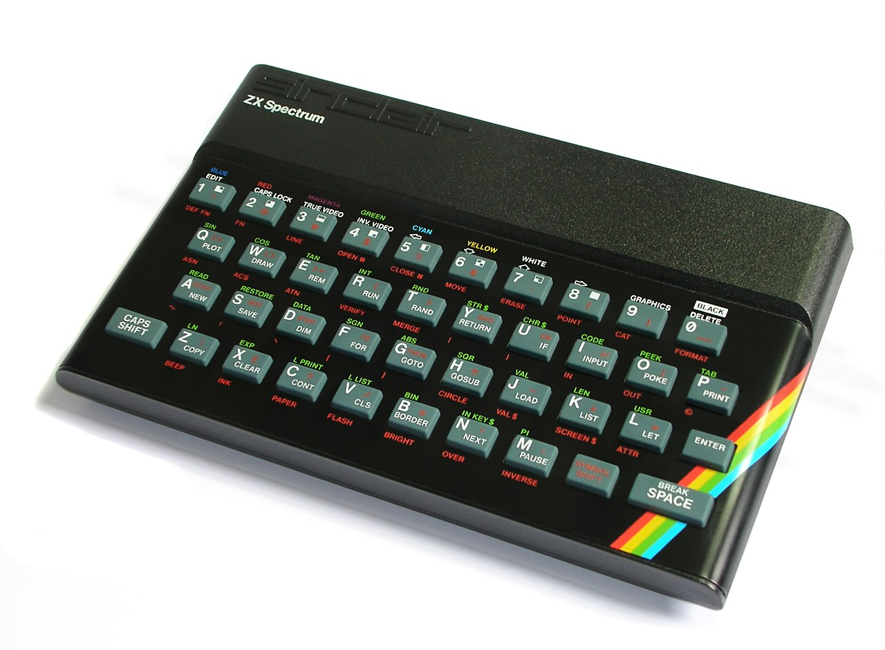 The ZX Spectrum. The start of it all...