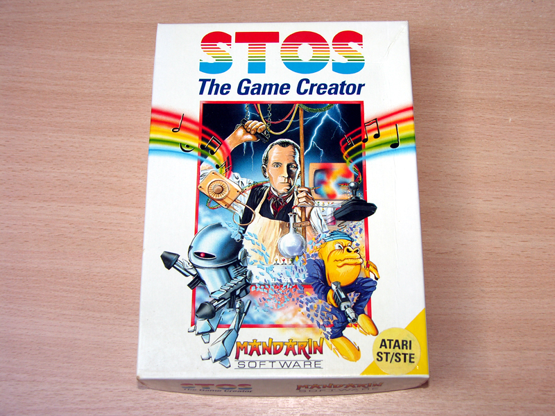 Many games were created using STOS. Most of them were instantly recognisable. Ozone however, was different!