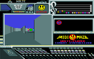 Midi-Maze - The very first '1st person shooter'? On the ST at least.