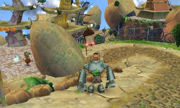 A screenshot of 'The Kore Gang' on the Nintendo Wii. Sadly not released by UDS