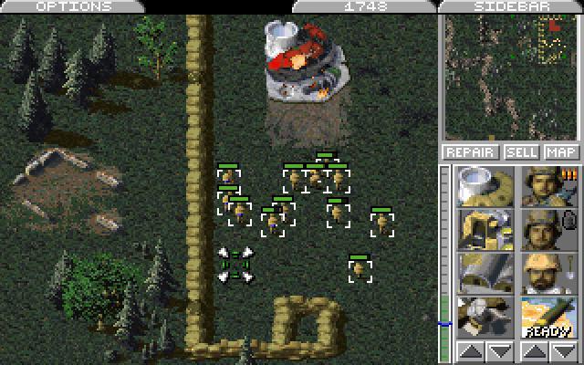 The original Command & Conquer. What a classic...