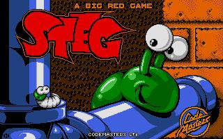 Steg the Slug, one of Terry's favorite accomplishments. A fantastic game indeed!
