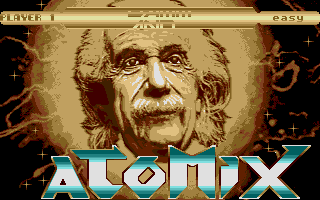 Laserball was inspired by the Thalion classic, Atomix.