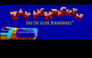 Zak McKraken and the Alien Mindbenders ... A classic from Lucasfilm games and one of the few games Thomas enjoyed playing.
