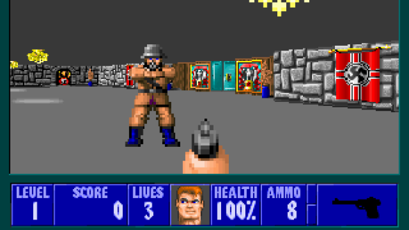 'Wolfenstein 3D' was the inspiration for creating 'Substation'.