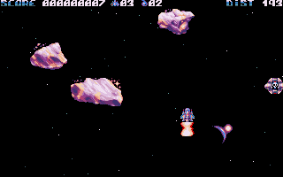 'r0x' is a beautiful scrolling 'avoid-em-up' from Cerebral Vortex.