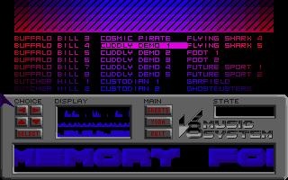 V8 Music System 2 (main screen)