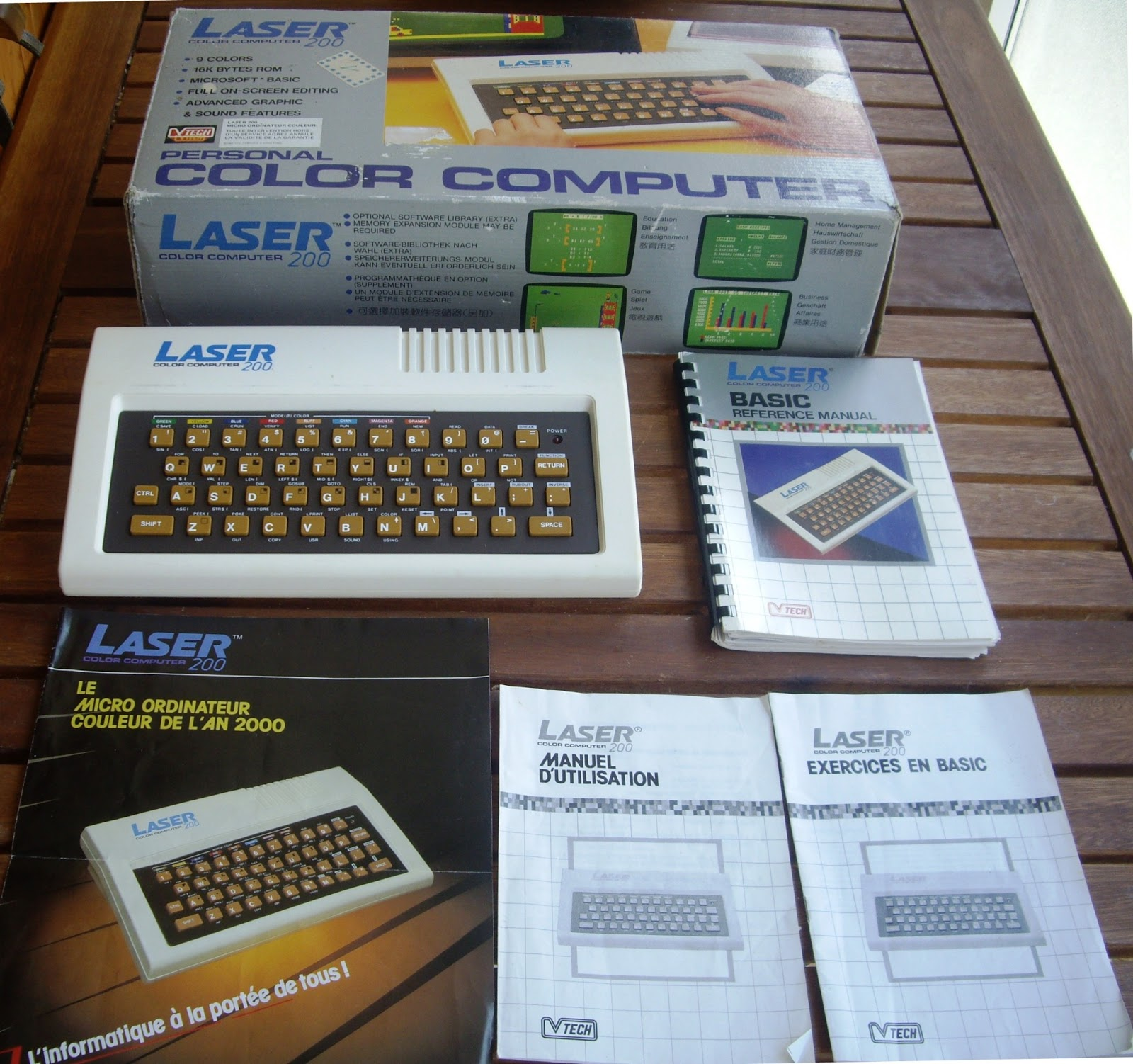 The Laser 200 computer