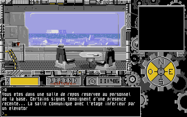 Les Portes du Temps was released on the Atari ST, but also on the Amiga and PC