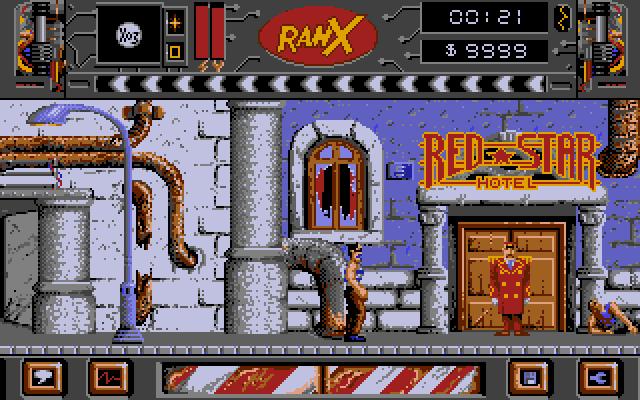 Ranx, a comic book translation