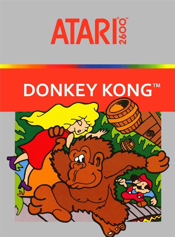 Donkey Kong on the Atari 2600 was one of the first games Ray ever played.