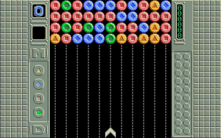 Manical Drop, a game coded by Dma in the language C.