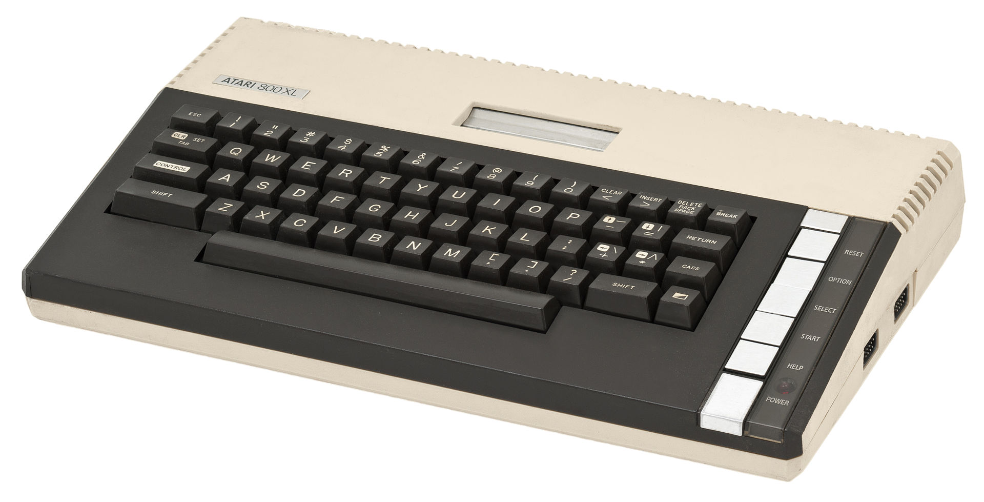The Atari 800 XL was the first machine Karl considered a REAL computer.