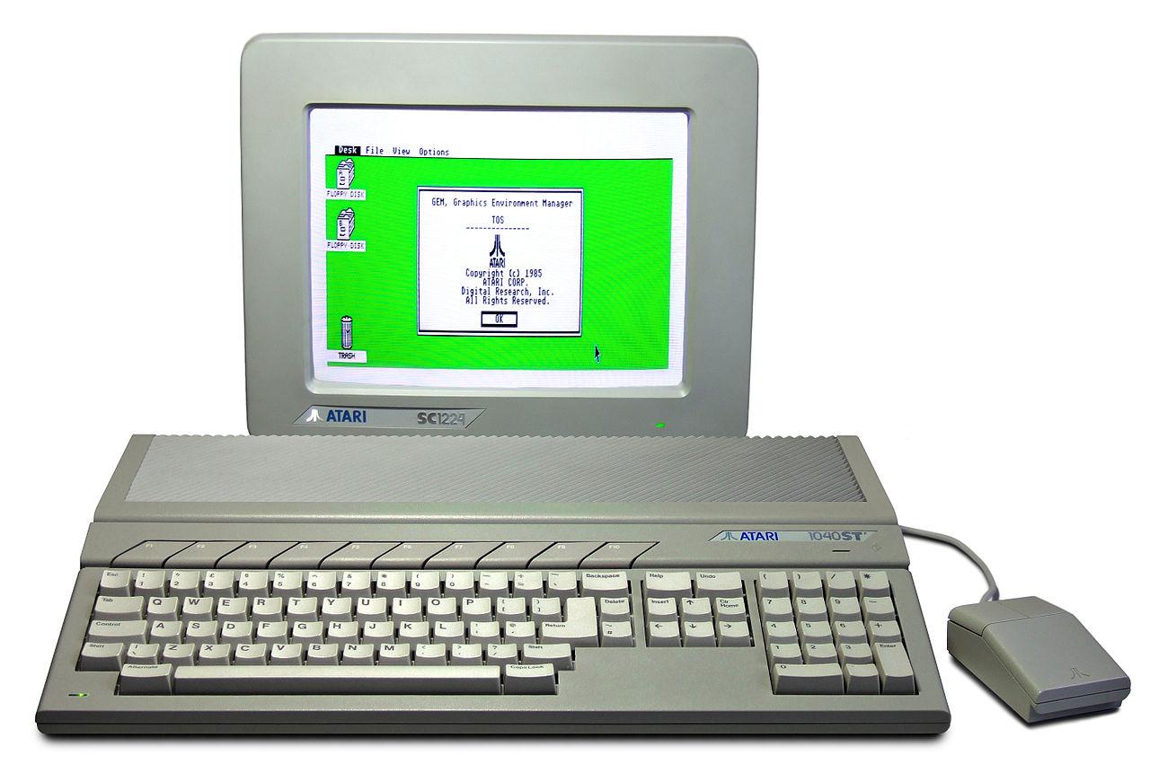 Everybody's favorite. The Atari ST!