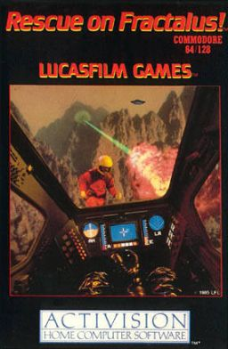 The Lucasfilm classic game and a highly regarded title on the Atari 8-bit computer.