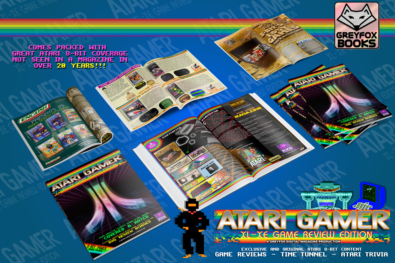 Atari Gamer, the digital magazine that started some trouble. The end result however is very nice.