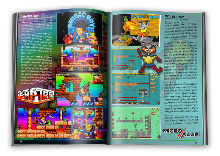 This is a page from the Atari Crypt magazine. This was a free digital magazine and a real treat for the community.