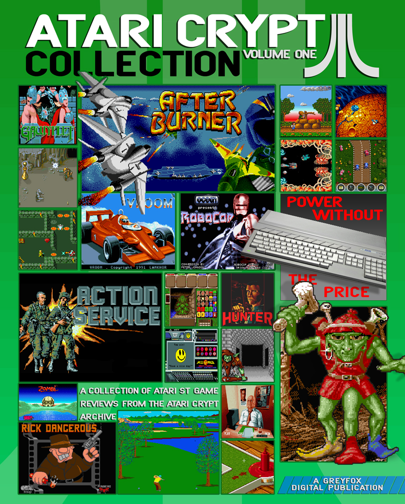 The Atari Crypt magazine in all its full frontal glory.