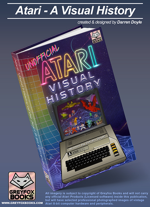 This is the real deal. Darren's first succesful Kickstarter has turned into a beautiful hardcover with hundreds of pages of 8-bit goodness.