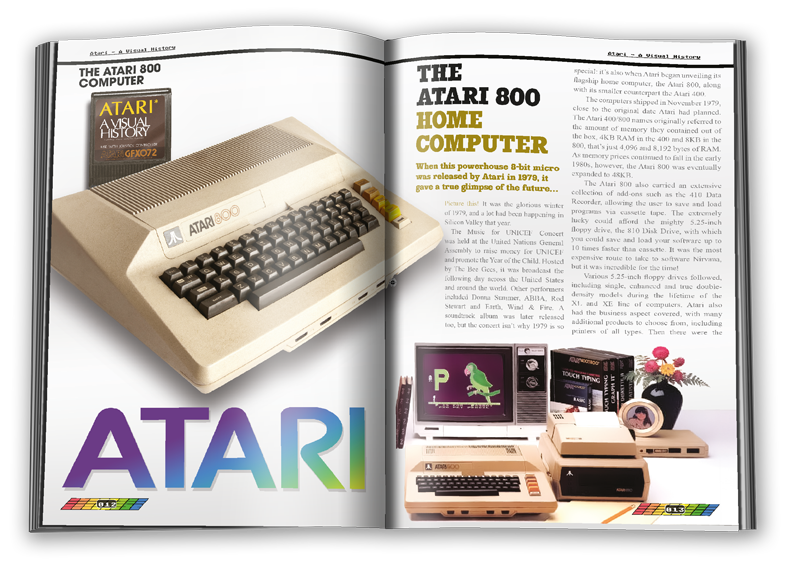 The Atari 8-bit line. A force to be reckoned with.