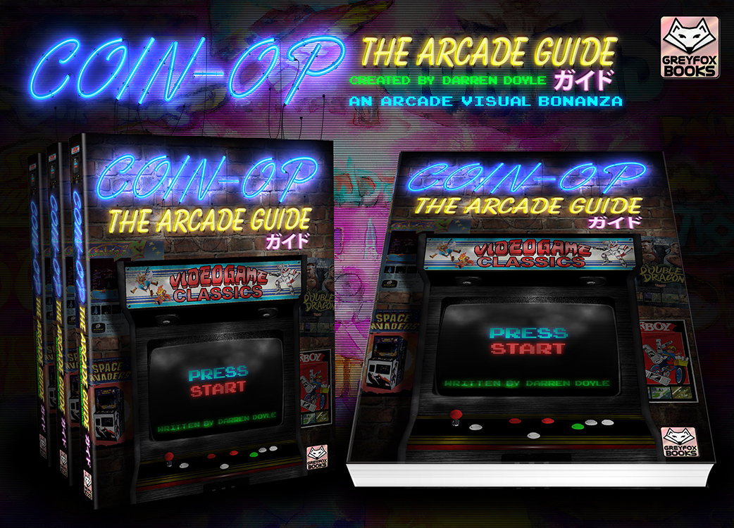 With a bit of luck, this amazing book covering all there is to know about arcade games, could be Darren's next project.