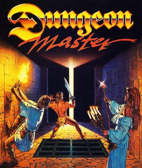 Dungeon Master. Everybody's Atari ST favourite.