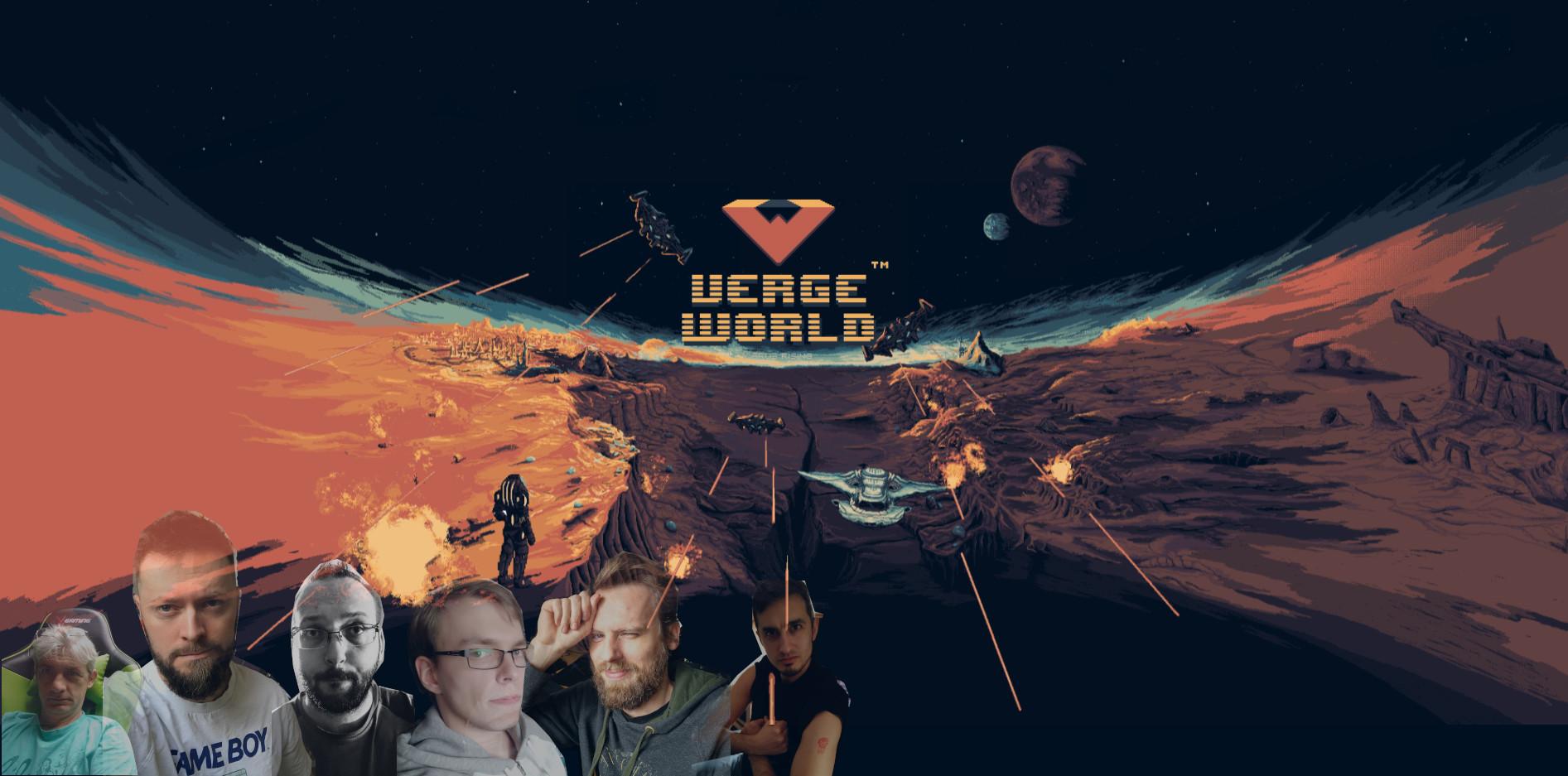 The complete Vergeworld team!