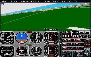 Flight Simulator 2 was the only game Frank ever played on the ST.