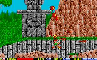 The Atari ST version was programmed by Xavier.