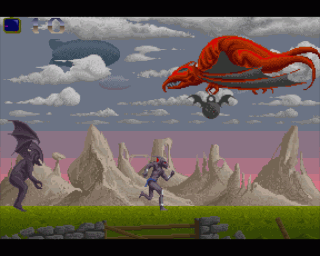 Shadow of the Beast on the Amiga. A technical masterpiece but a turd of a game. And on the ST it was an even bigger pile of ...